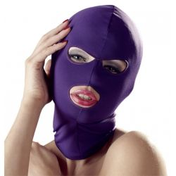 "Маска ""Bad Kitty - 3 Hole Hood Purple"""